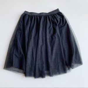 Lovesick Torrid Black Tulle Skirt Plus Size 1